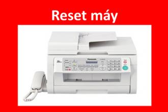 Cách Reset máy in Panasonic KX-MB 2025